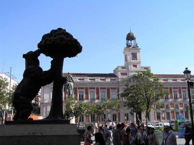 el oso y el madroño centro de madrid